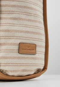 TOM TAILOR - TORINO - Shopping bag - beige