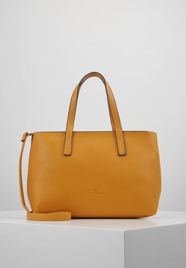 MARLA - Handväska - yellow