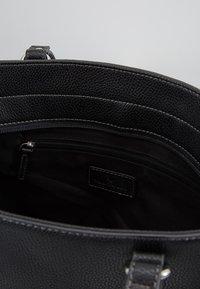 TOM TAILOR - KASIANA - Bolso shopping - black - 4