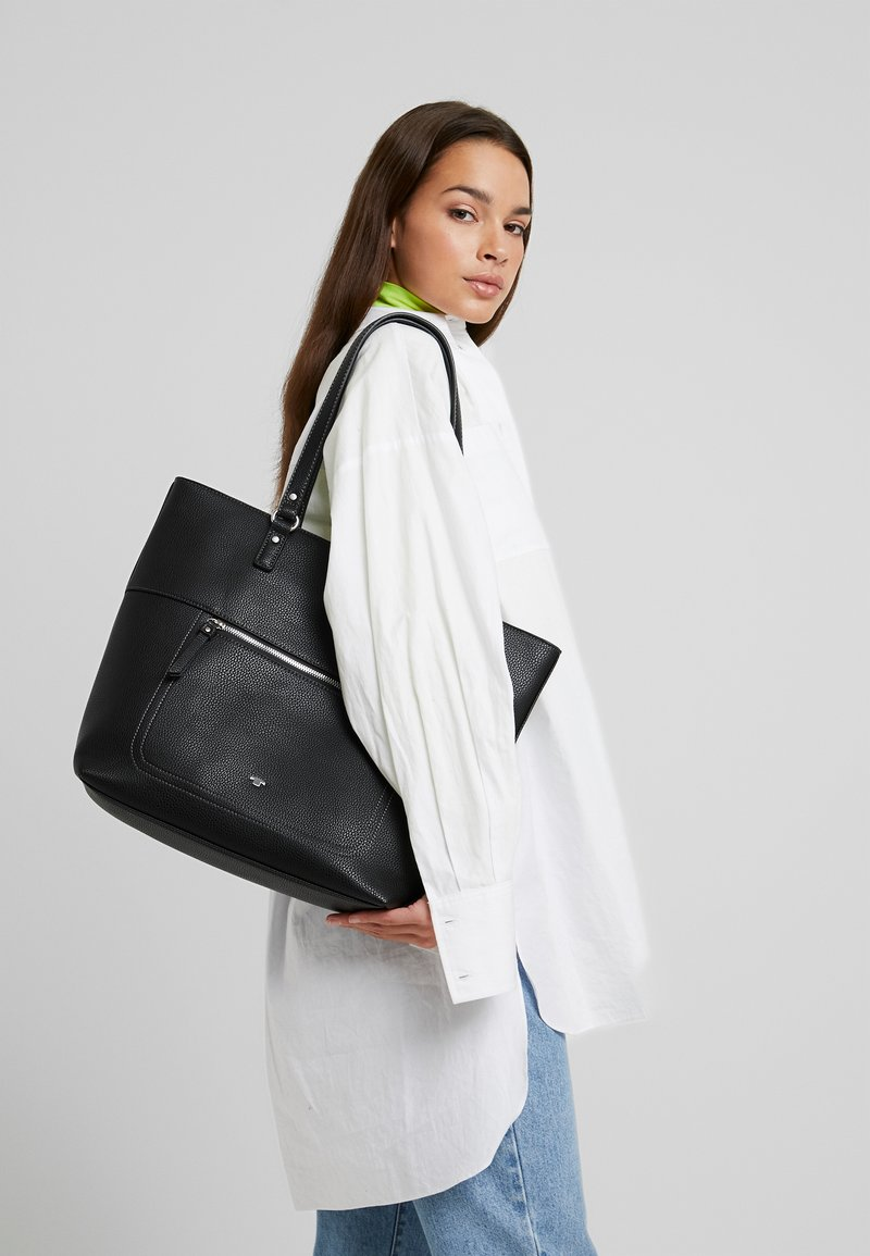 TOM TAILOR - KASIANA - Bolso shopping - black
