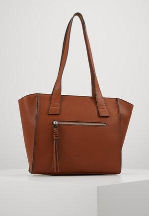 KATHARINA - Handbag - cognac