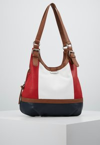 TOM TAILOR - JUNA - Handbag - mixed maritim - 0