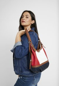 TOM TAILOR - JUNA - Handbag - mixed maritim - 1