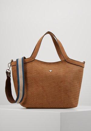 MESSINA - Handbag - cognac
