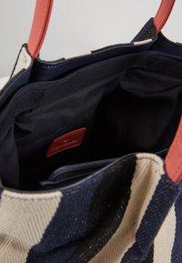 TOM TAILOR - ADRIA - Shopping bag - stripes blue - 4