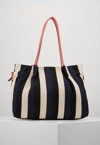 TOM TAILOR - ADRIA - Shopping bag - stripes blue - 2