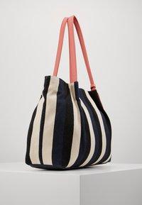 TOM TAILOR - ADRIA - Shopping bag - stripes blue - 3