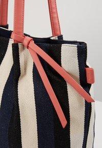 TOM TAILOR - ADRIA - Shopping bag - stripes blue - 6