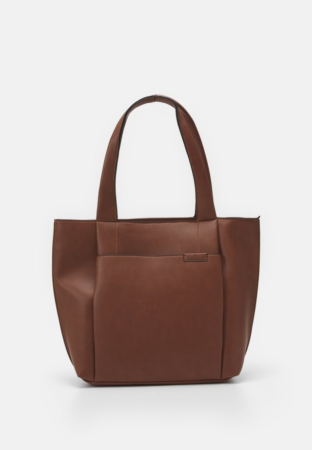 TARA - Shopper - cognac