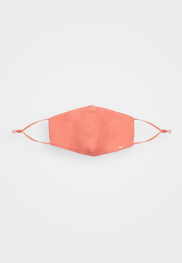 FACE MASK - Stoffmaske - peach
