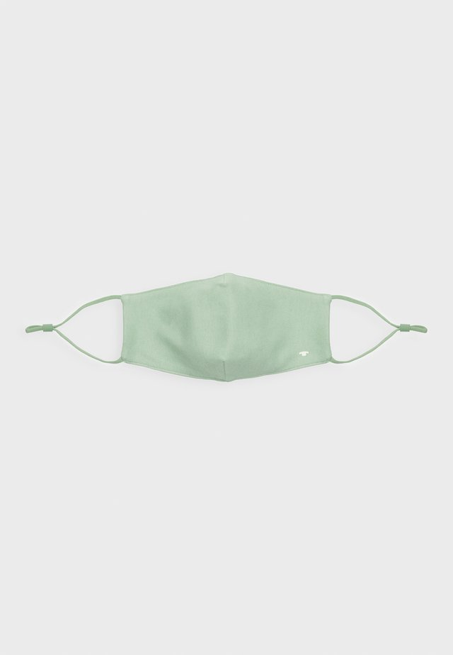 FACE MASK - Stoffmaske - light mint green