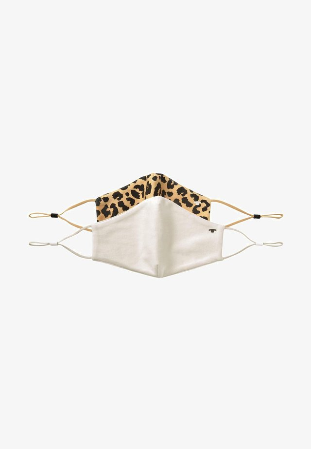 2 PACK - Stoffmaske - leopard all over