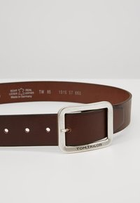 TOM TAILOR - Belt - cognac - 4