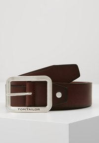 TOM TAILOR - Belt - cognac - 0