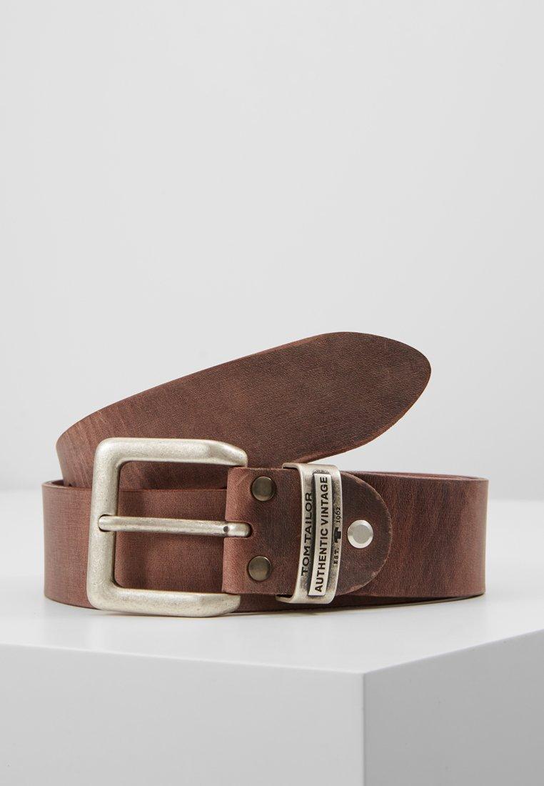 TOM TAILOR - Belt - brown