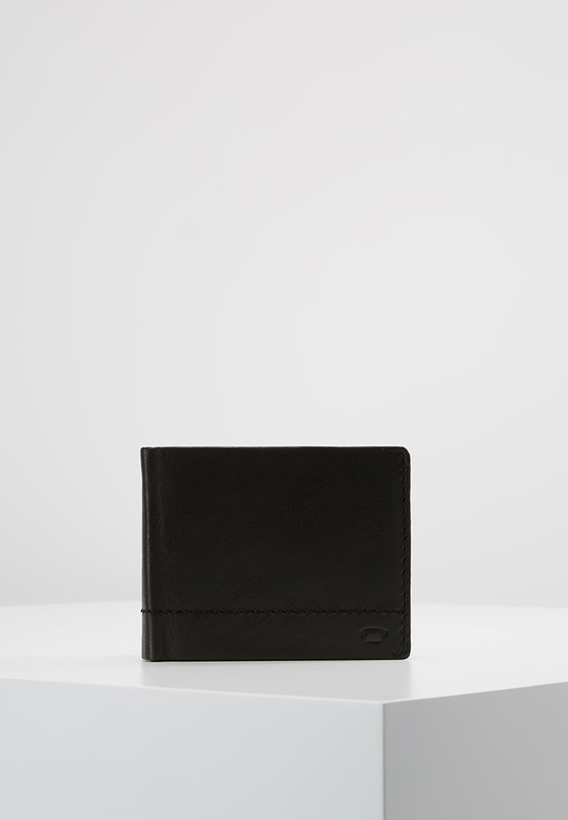 KAI HORIZONTAL WALLET - Portefeuille - black