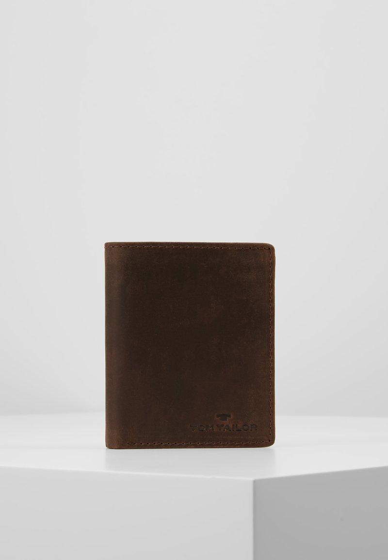 TOM TAILOR - PORTEMONNAIE RON - Geldbörse - brown