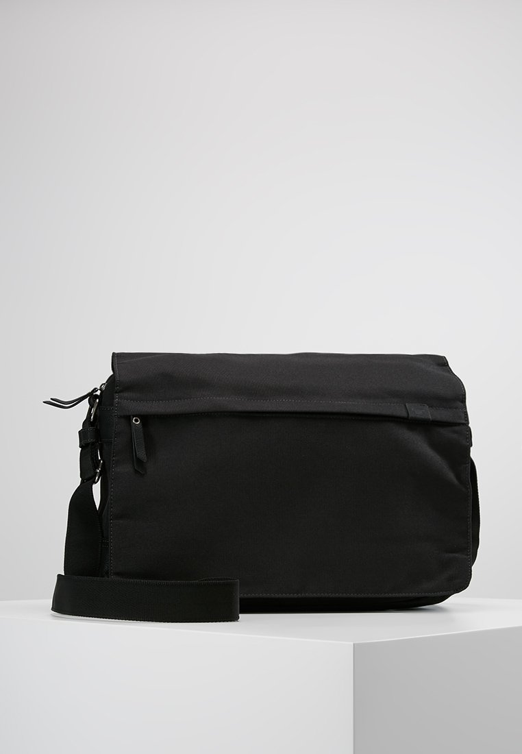 TOM TAILOR - SIMON MESSENGERBAG - Across body bag - black