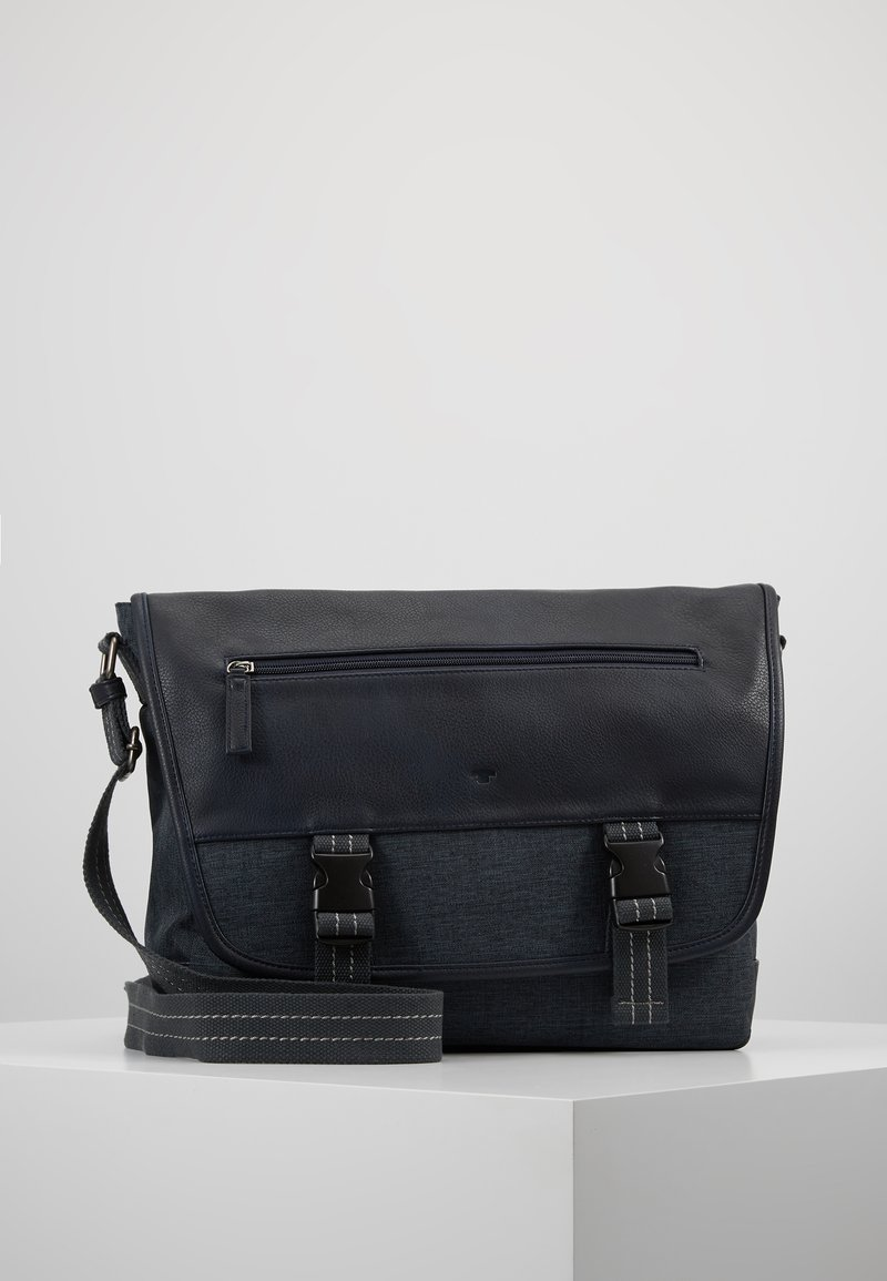 TOM TAILOR - BLAKE - Across body bag - blue