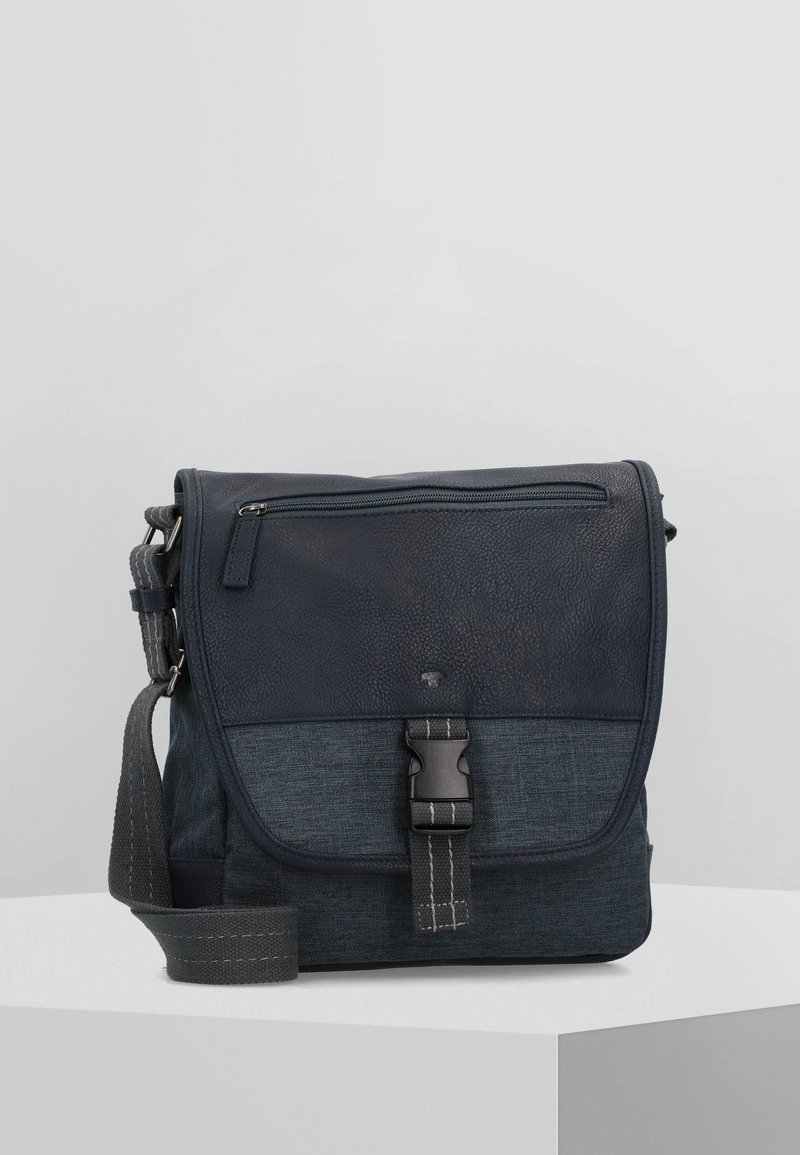 TOM TAILOR - Across body bag - blue