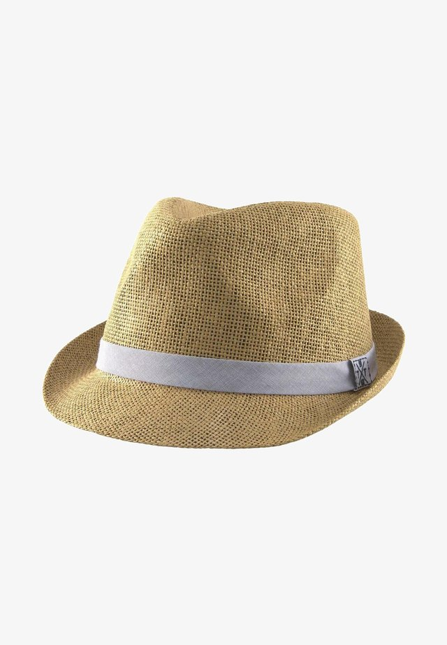 Hat - smoked beige