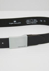 TOM TAILOR - Pásek - schwarz - 2