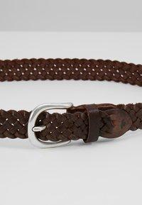 TOM TAILOR - Pletený pásek - braun - 2