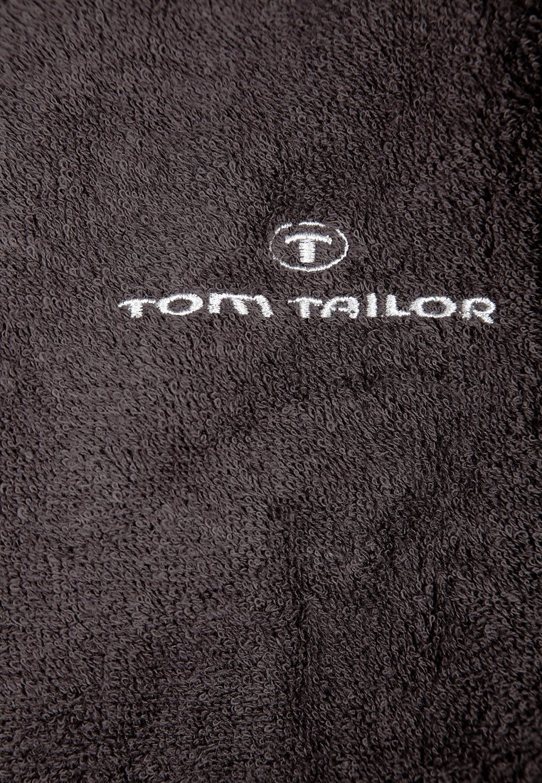 TOM TAILOR BASIC KIMONO - Morgonrock - dark grey