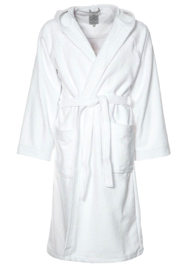 BASIC VELOURS - Dressing gown - weiß