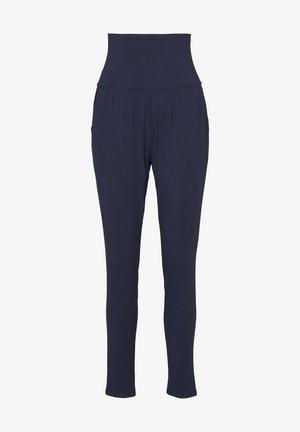 Pyjamabroek - dark blue uni