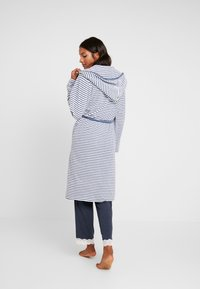 TOM TAILOR - STRIPE BATHROBE - Dressing gown - jeans blue - 2