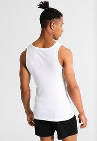 TOM TAILOR - 2 PACK - Camiseta interior - white - 2
