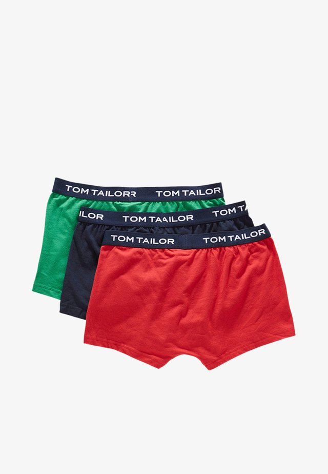 3 PACK - Pants - cardinal/navy/green
