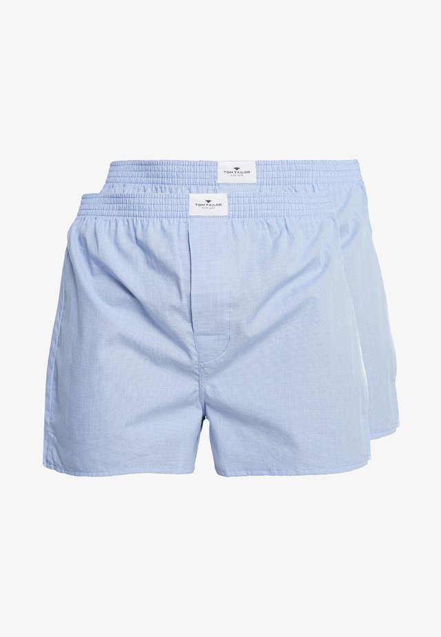 WESTSIDE 2 PACK - Boxer shorts - hellblau