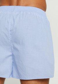 TOM TAILOR - WESTSIDE 2 PACK - Boxer shorts - hellblau - 2