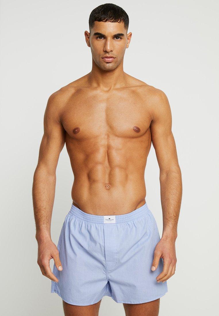 TOM TAILOR - WESTSIDE 2 PACK - Boxer shorts - hellblau
