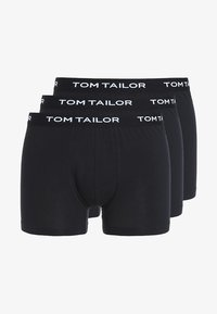 TOM TAILOR - 3 PACK - Shorty - black - 3