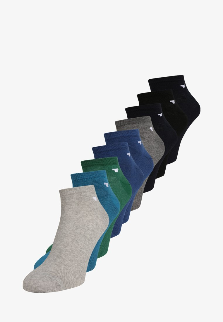 TOM TAILOR - 9 PACK - Strumpor - blue/black/multi-coloured
