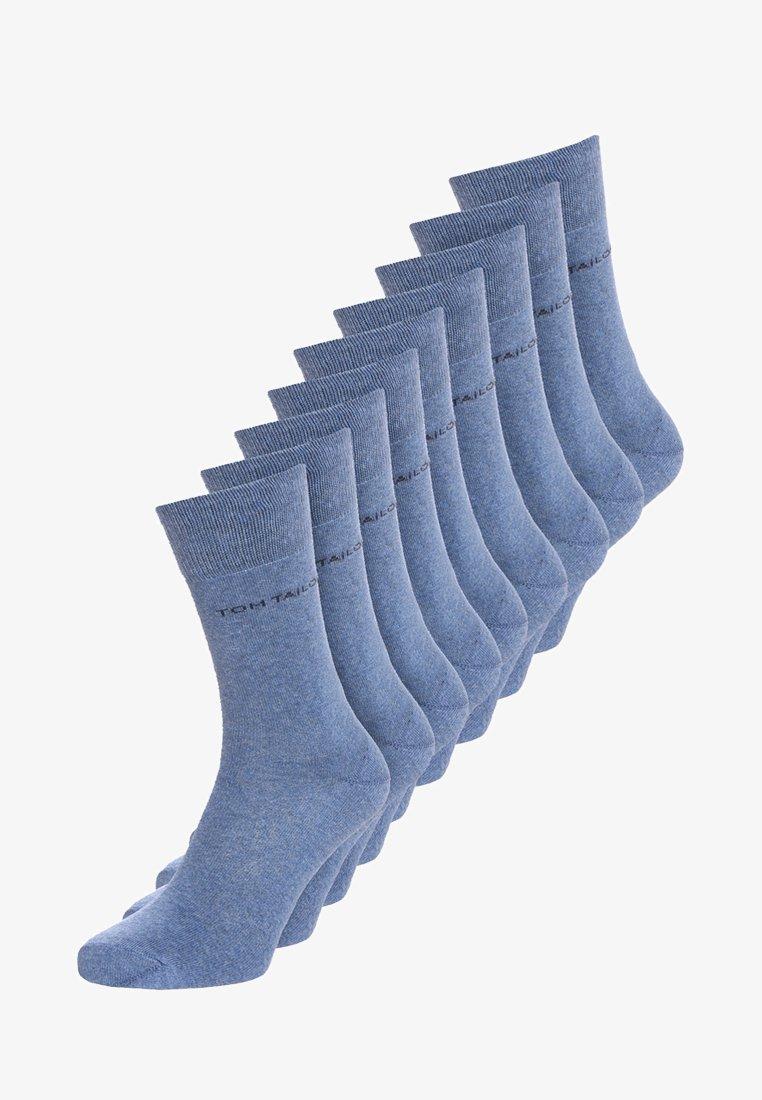TOM TAILOR - BASIC 9 PACK - Socks - denim melange