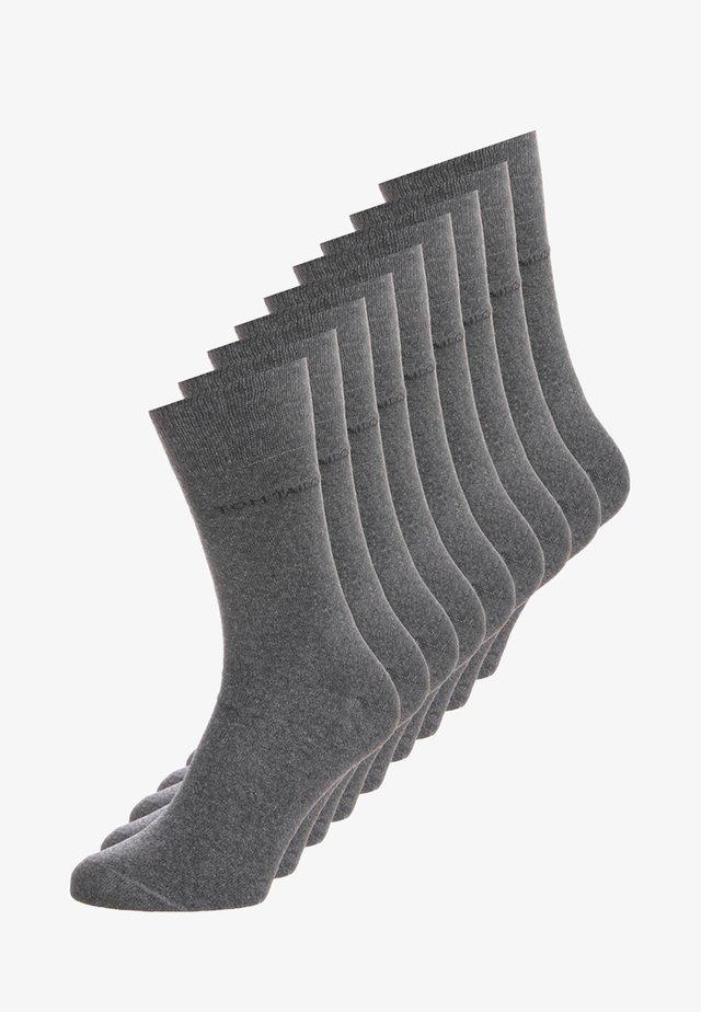 BASIC 9 PACK - Ponožky - anthracite