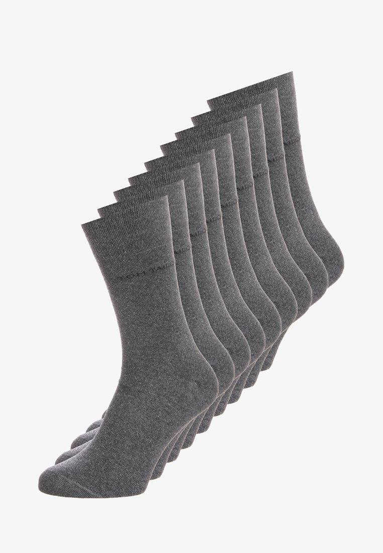 TOM TAILOR - BASIC 9 PACK - Socken - anthracite