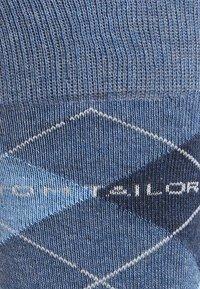 TOM TAILOR - 4 PACK - Sokken - blau/schwarz - 4