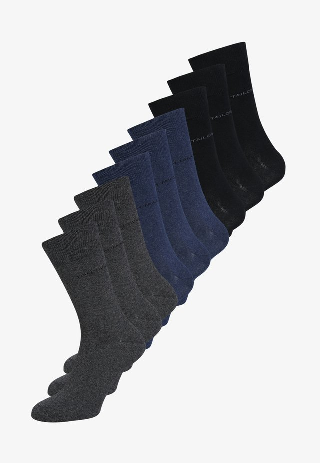 9 PACK - Ponožky - blue