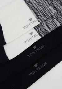 TOM TAILOR - WINTER STRIPES 6 PACK - Socks - dark navy - 3