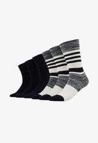 TOM TAILOR - WINTER STRIPES 6 PACK - Socks - dark navy - 2