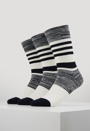 WINTER STRIPES 6 PACK - Sukat - dark navy