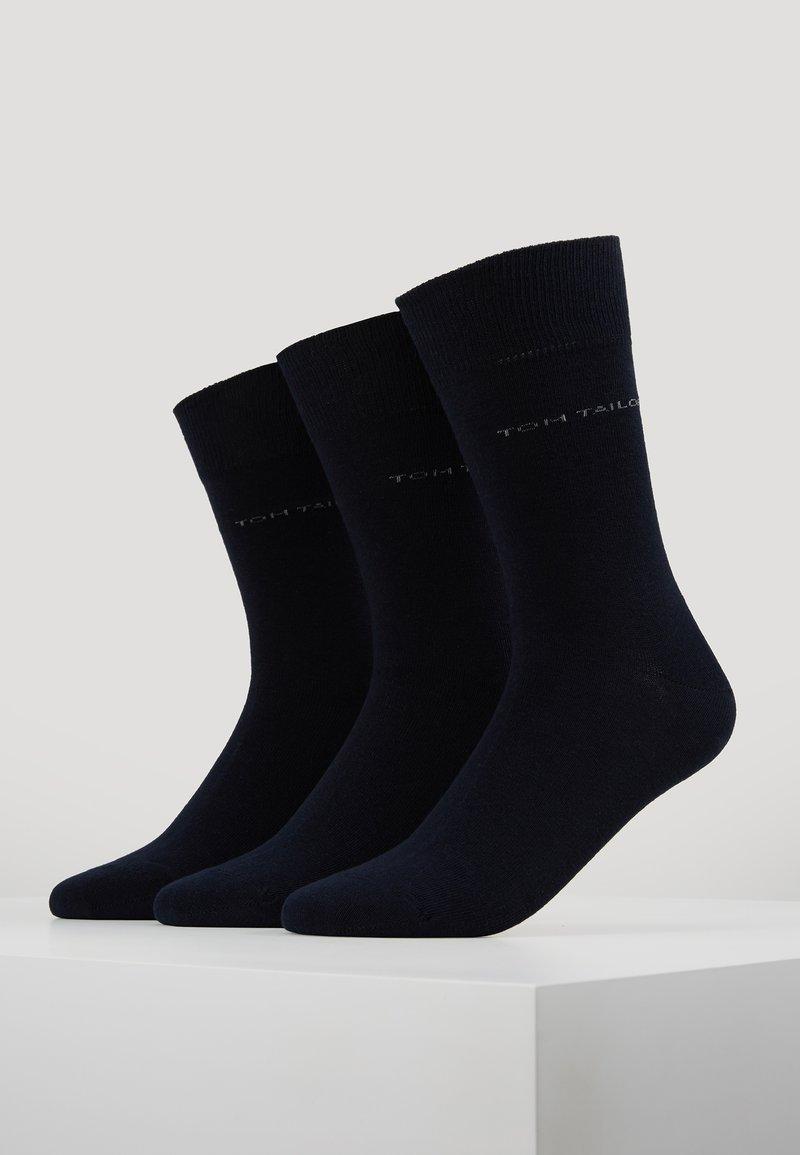TOM TAILOR - WINTER STRIPES 6 PACK - Socks - dark navy