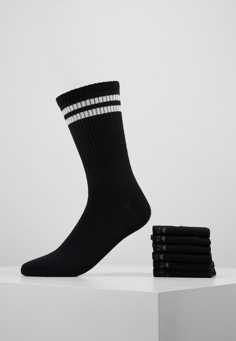 TOM TAILOR - SPORTIVE 6 PACK - Sokken - black