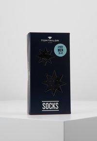 TOM TAILOR - XMAS BOX 4 PACK - Strumpor - black - 3