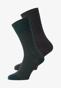 TOM TAILOR - 2 PACK - Sports socks - dark green - 0